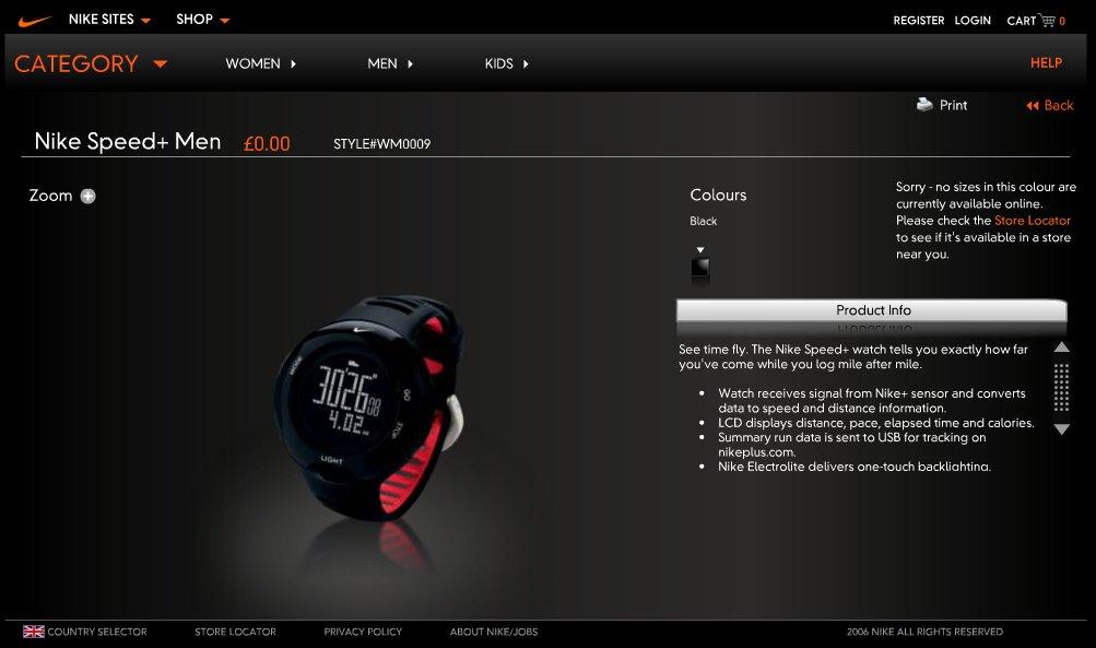 Nike Speed+