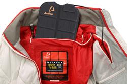Moshi Battery in Mountain Hardwear jacket